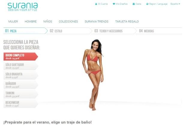 Ejemplos de e-commerce productos personalizados