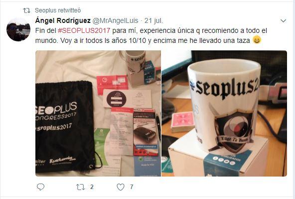 Tweet Seoplus 2017
