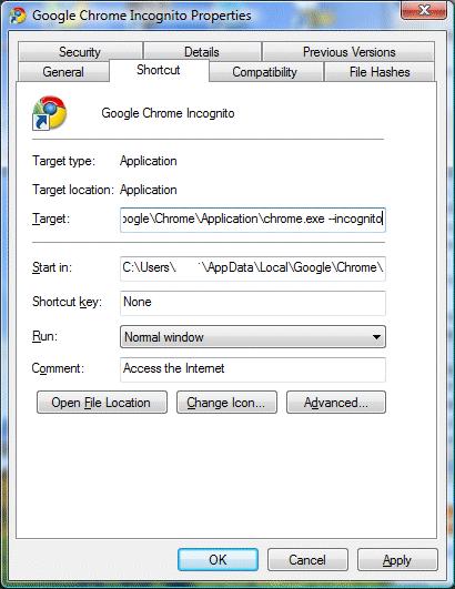 chrome safe mode is actually incognito mode.