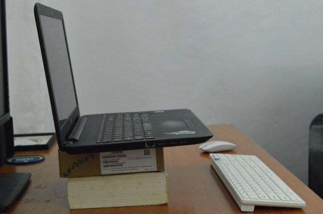 DYI laptop stand