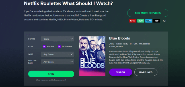 netflix roulette What to watch on netflix now