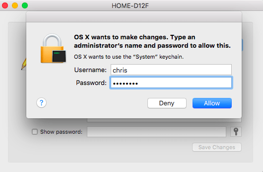 how to find your wifi password on mac