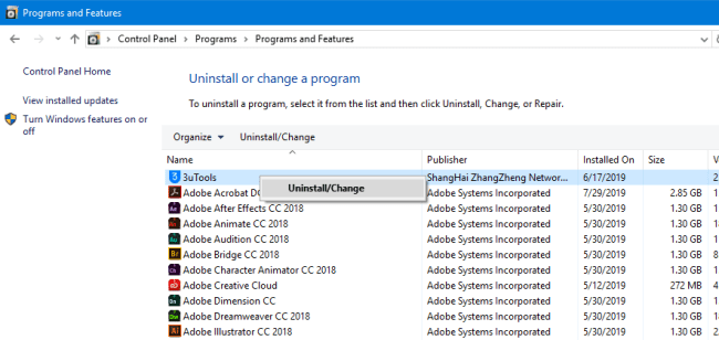 How To Uninstall a Program on Windows 10