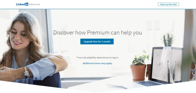 how to join linkedin premium