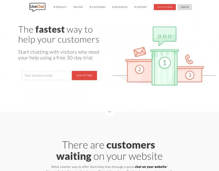 mixed media and graphics for SaaS home page