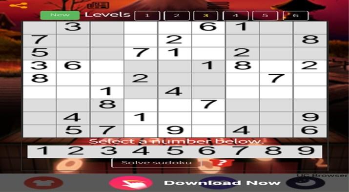 Sudoku Android app
