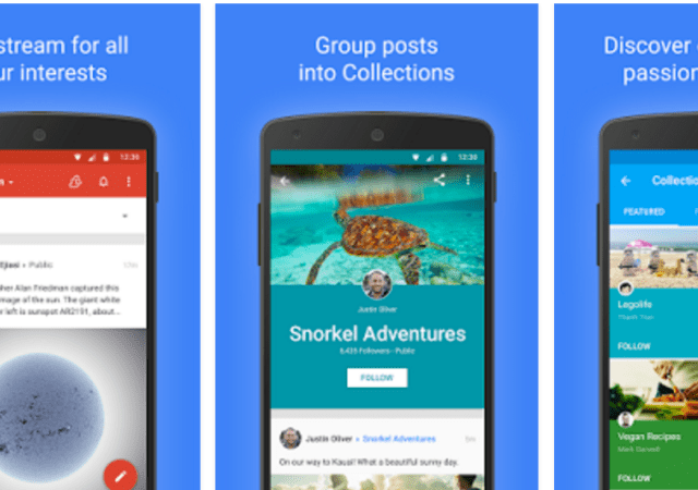 Google+ App Gets Update, Improved Search