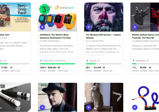 Kickstarter Launches 'Projects We Love' Badge