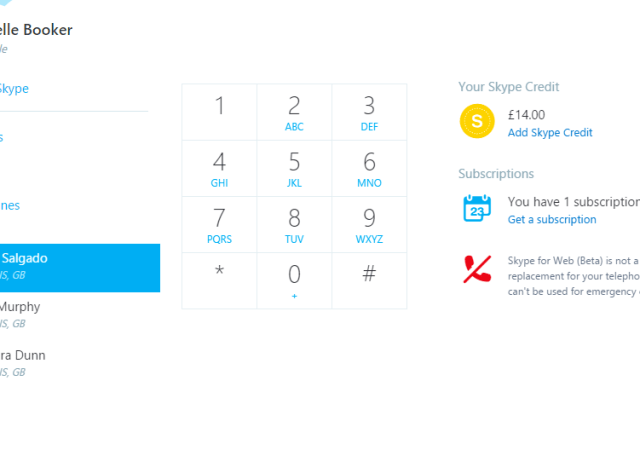 Skype For Web Gets Big Improvements