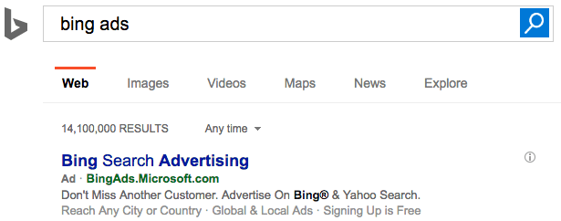 Bing Banned 150,000 Advertisers in 2015