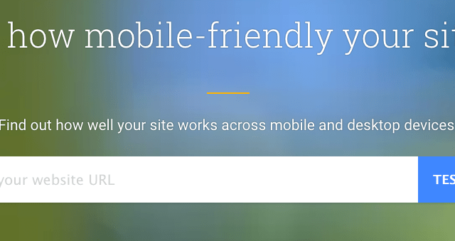 New Google Tool To Test Your Sites Mobile Performance