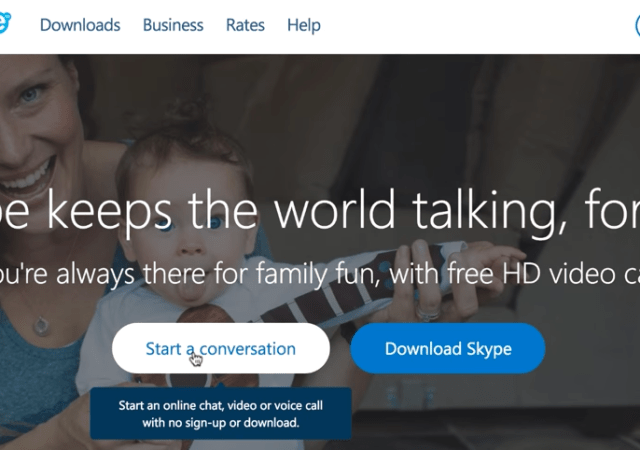 Skype Becomes More Seamless For Business--No Login Required