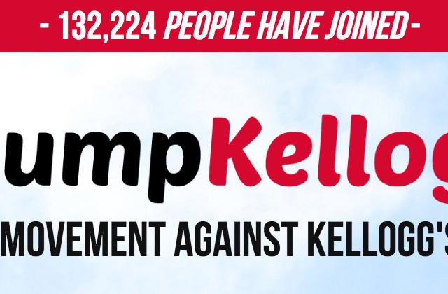 Power of the People: Kellogg's Dumps Breitbart.com... so Breitbart's Readers Dumping Kellogg's