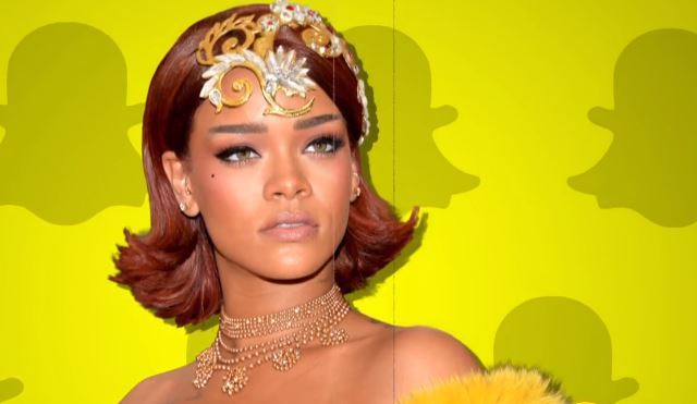 Snapchat's Stock Takes a Hit After Posting 'Slap Rihanna' Game