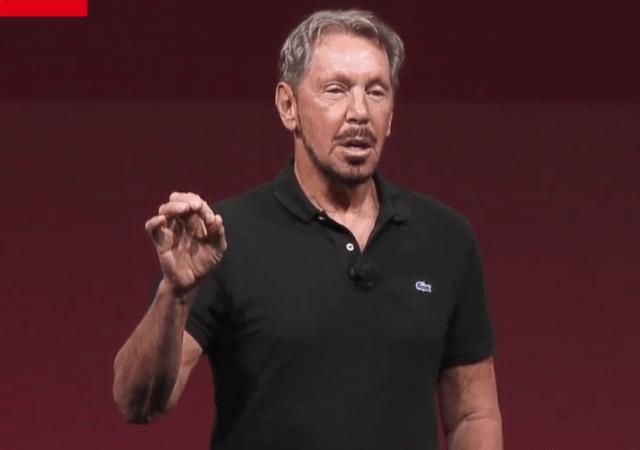 Larry Ellison's Pitch for the Oracle Autonomous Database