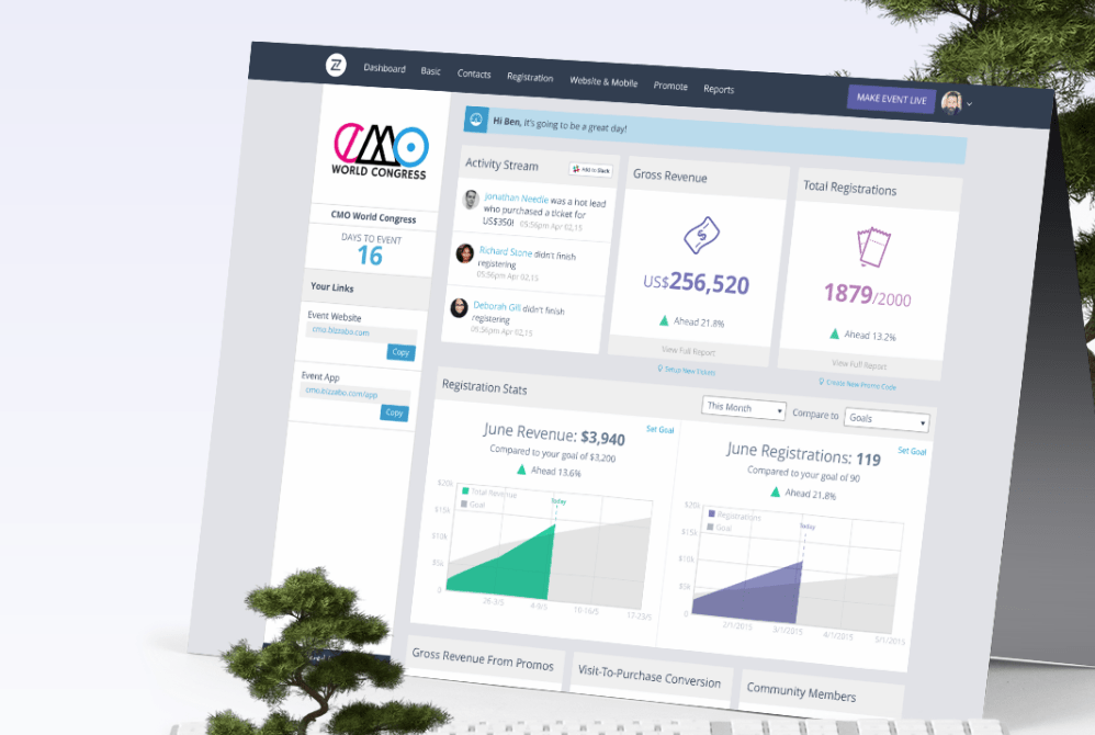 Bizzabo Wants to be the Salesforce of Events
