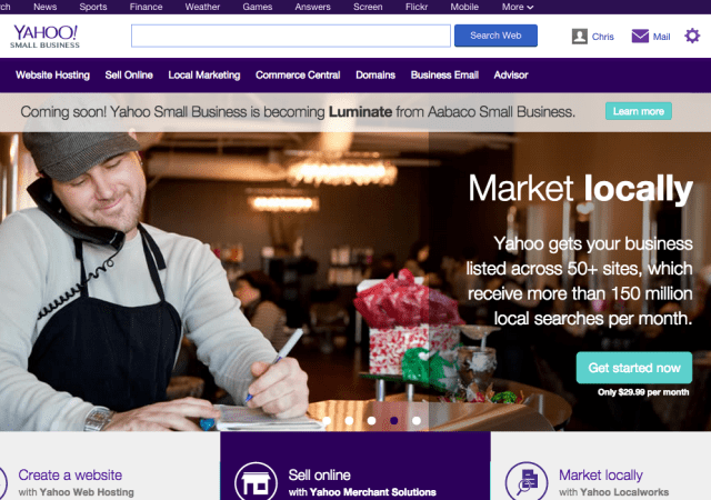 Yahoo Small Business Gets Name and Ownership Change