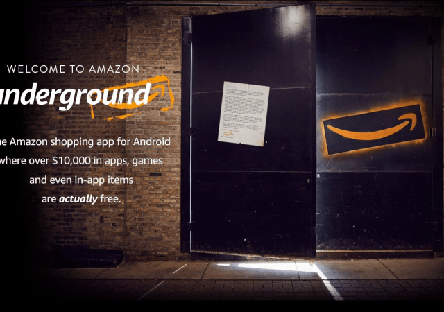 "Amazon Launches Underground, a New App with ""Actually Free"" Apps"