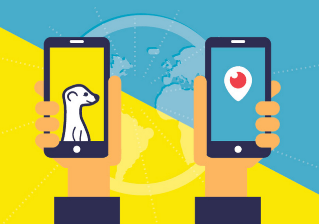 Infographic Compares Meerkat & Periscope For Business