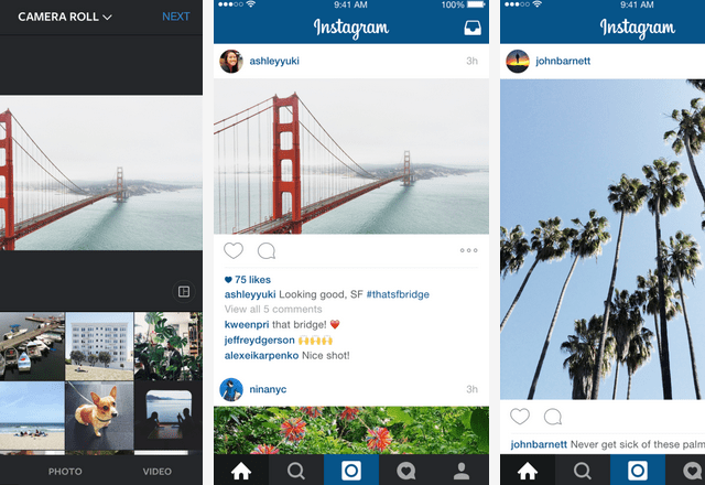 Instagram, No Longer Square, Lets You Post Landscape and Portrait Photos