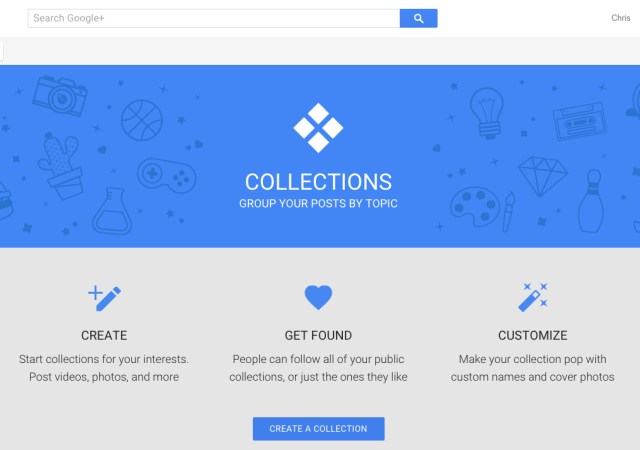 Google Adds Collections To Google+ For iOS