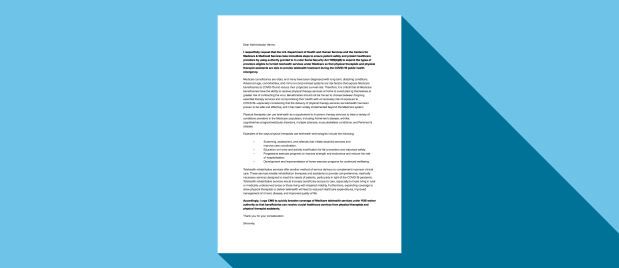Download Telehealth Advocacy Letters