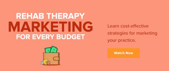Desktop Rehab Therapy Marketing Webinar Ad