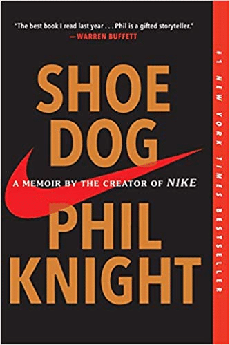 cover of book Shoe Dog