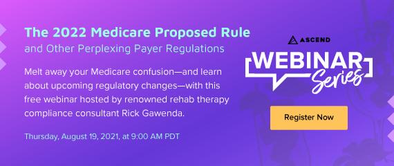 Webinar: The 2022 Medicare Proposed Rule Desktop
