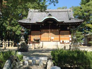 本荘神社境内