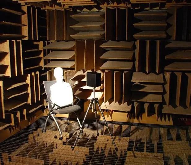 Der stillste Ort der Welt: Der schalltote Raum in den Orfield Laboratories.