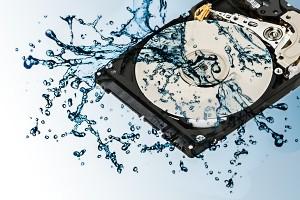 Hard Disk bagnato