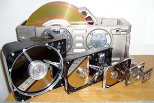struttura dell'hard disk formati