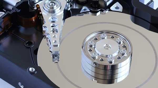 recupero dati da head crash hard disk