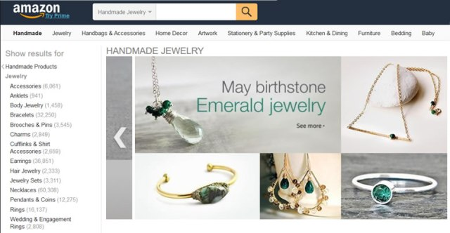Amazon Handmade Jewelry
