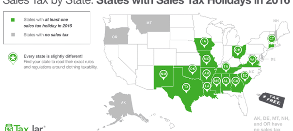 US Sales Tax Holidays: What Online Sellers Need to Know