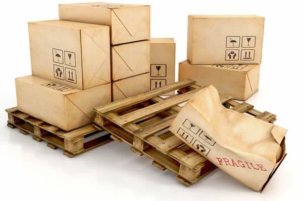 Damaged cartons