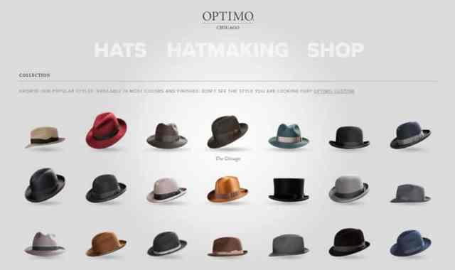 Optimo hats