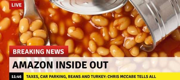 Amazon Inside Out: Taxes, Car Parking, Beans and Turkey