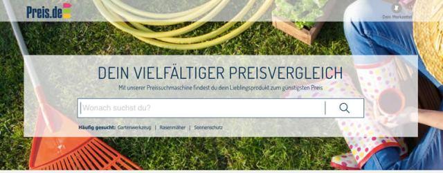 Preis.de screenshot