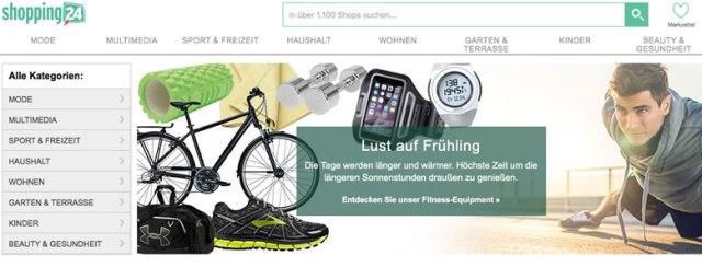 Shopping24.de screenshot