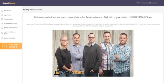AMZAlert Fix Any Amazon Issue