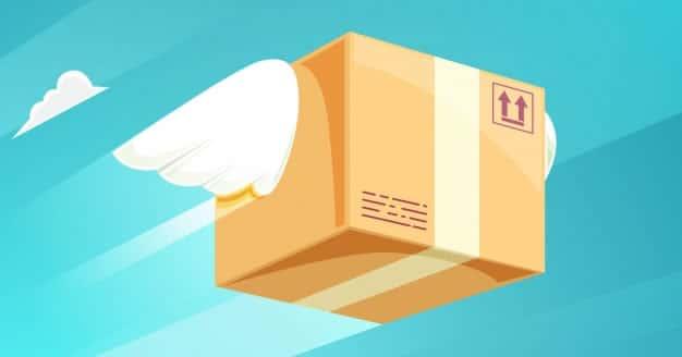 Flying parcel