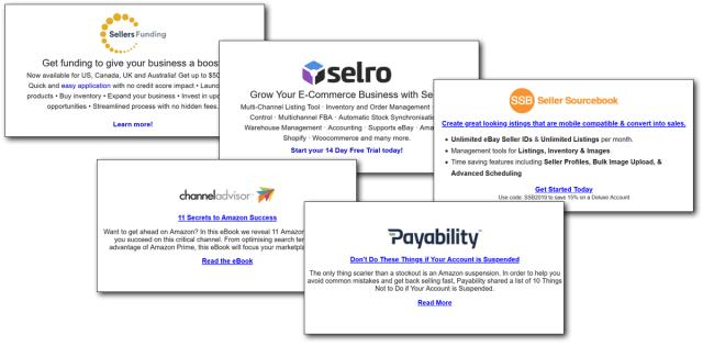 Newsletter Sponsorship examples