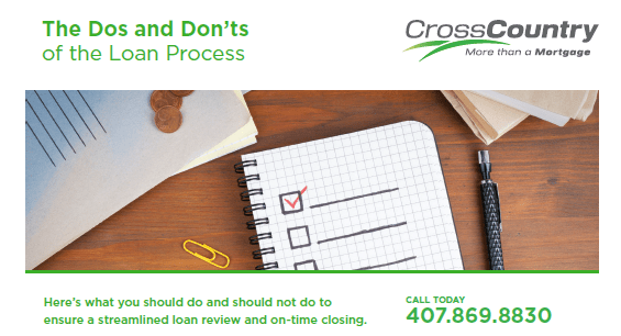 The Dos and Don'ts of the Loan Process