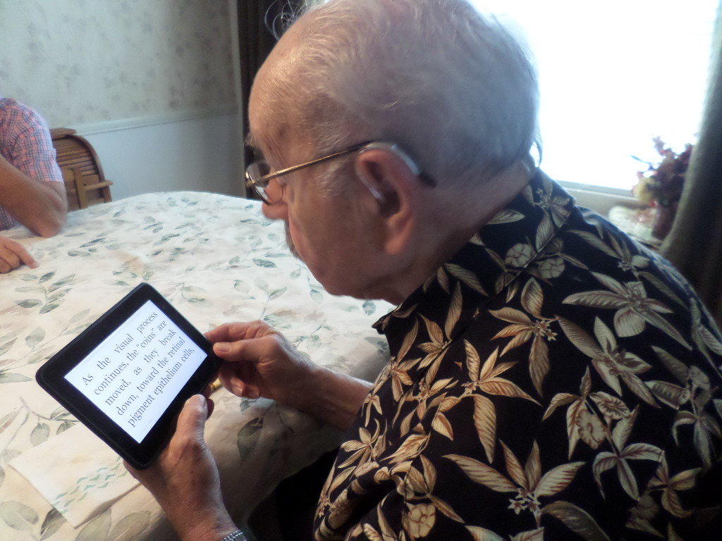 Reading Magnifier  Keep Reading With Macular Degeneration