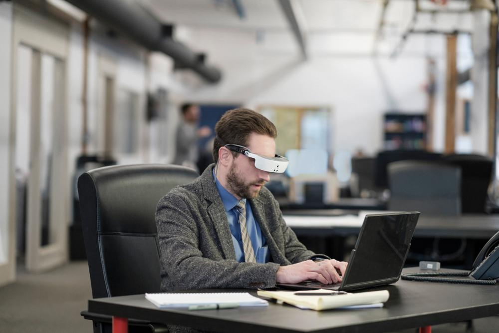 Macular Degeneration Glasses by eSight Amazing Low Vision