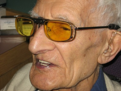Low Vision Glasses  Moves Image to Healthy Part of Retina