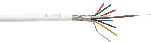 small resolution of screened alarm cable