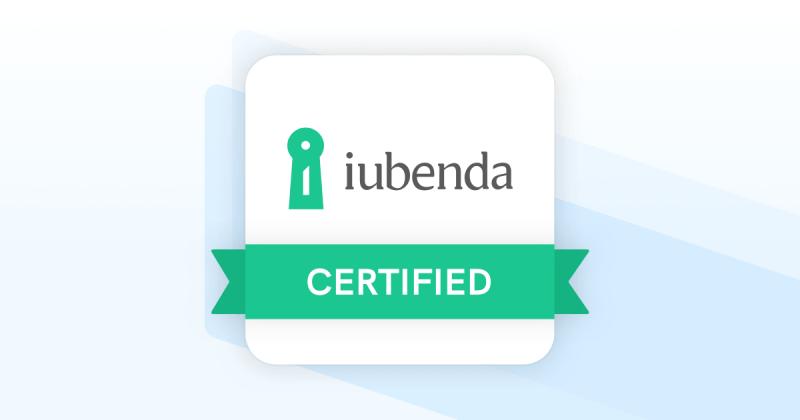 iubenda certifeid websapp.it